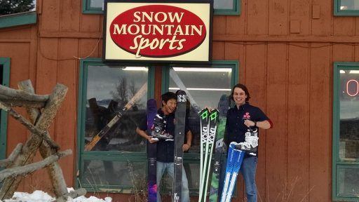 Snow Mountain Sports, YMCA of the Rockies, Snow Mountain Ranch, Volkl Skis, Salomon,Winter Park, Winter Park Skiing. Winter Park ski snowboard rental, Granby Ranch ski snowboard rental, discount rental