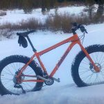 Fat biking in Winter Park Colorado is a great way to enjoy the mountain bike trails in the winter.