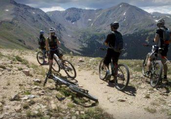 Rogers Pass - summertime mountain biking fun in Winter Park Colorado.