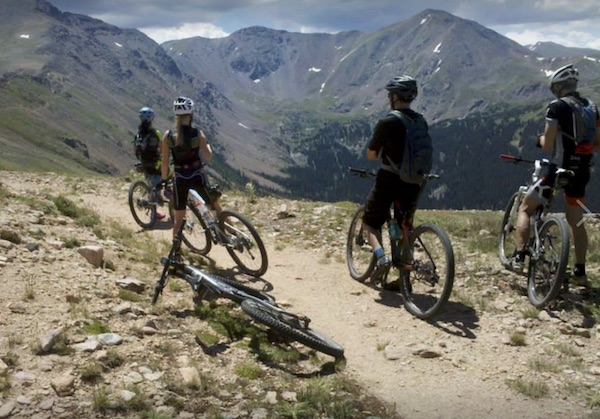 Rogers Pass - summertime mountain biking fun in Winter Park Colorado.