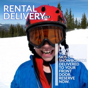 Winter Park ski and snowboard rental delivery reserve online