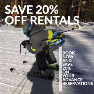 Save 20% Winter Park Ski Rentals