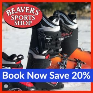 Book now save 20% Beavers Sports Shop